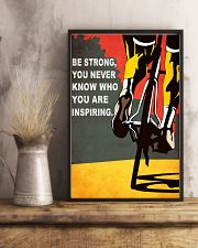 BE STRONG 11x17 Poster lifestyle-poster-3