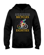 Equal Cycling EIGHTIES Men Shirt - FRONT Hooded Sweatshirt front