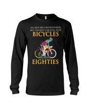 Equal Cycling EIGHTIES Men Shirt - FRONT Long Sleeve Tee thumbnail