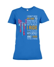 LIFE IS A RIDE Premium Fit Ladies Tee thumbnail