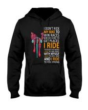 LIFE IS A RIDE Hooded Sweatshirt thumbnail