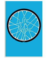 LIFE IS A RIDE 24x36 Poster front