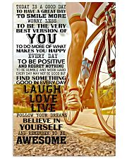 REMEMBER TO BE AWESOME 11x17 Poster front