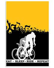 EAT - SLEEP - RIDE - REPEAT 11x17 Poster front