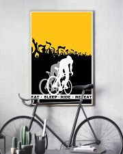 EAT - SLEEP - RIDE - REPEAT 16x24 Poster lifestyle-poster-7