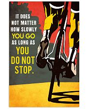 YOU DO NOT STOP 11x17 Poster front