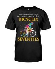 Equal Cycling SEVENTIES Men Shirt  Premium Fit Mens Tee thumbnail