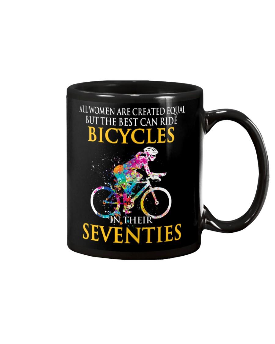 Equal Cycling Seventies Women Mug