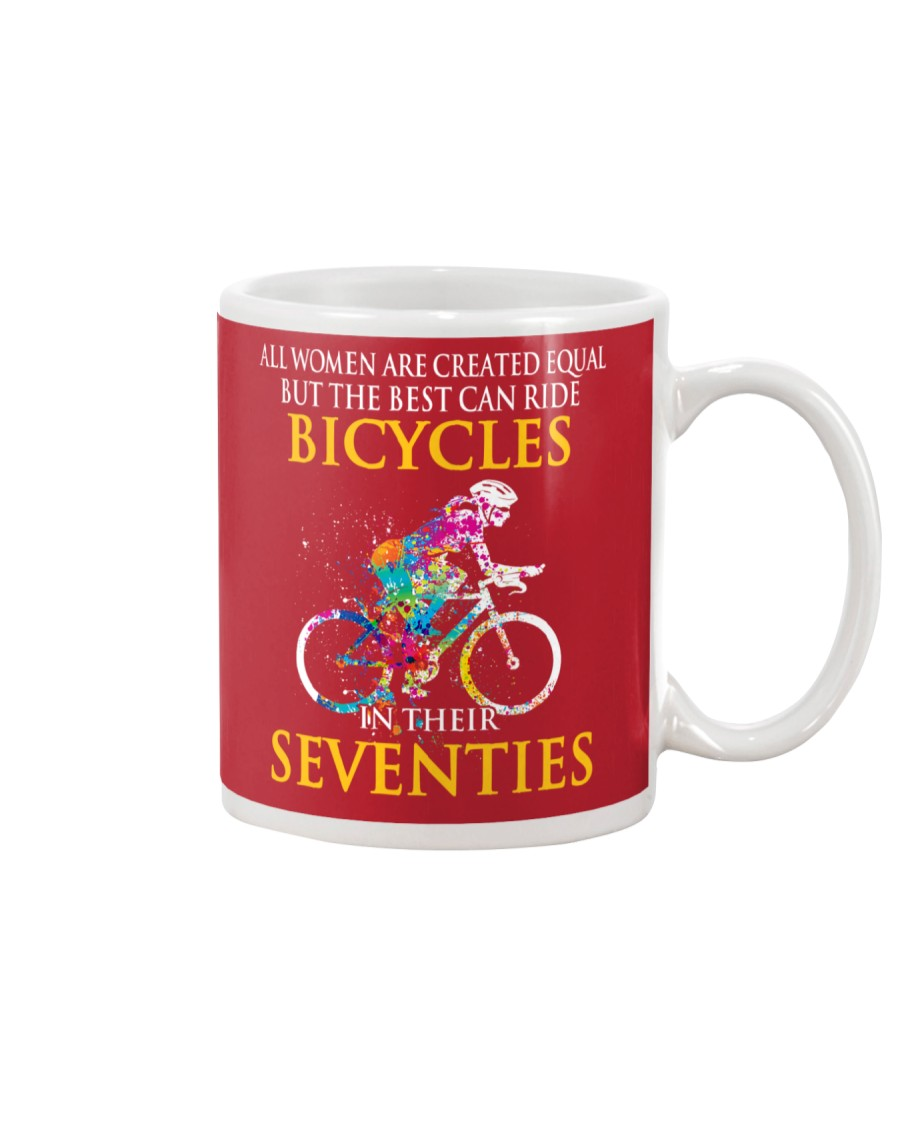 Equal Cycling Seventies Women Mug