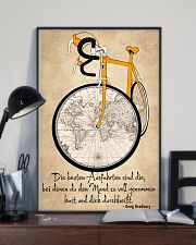 Sprueche Fahrrad Inspiration Motivation 11x17 Poster lifestyle-poster-2