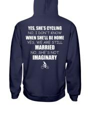 YES-SHE'S CYCLING Hooded Sweatshirt thumbnail
