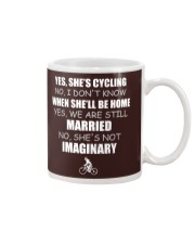 YES-SHE'S CYCLING Mug thumbnail