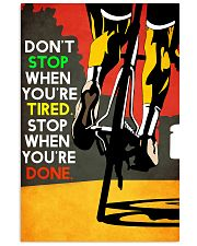 YES-SHE'S CYCLING 11x17 Poster thumbnail