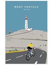 Climbing Mont Ventoux 11x17 Poster front