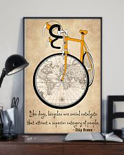 Cycling Quotes That Will Inspire You To Get Out  11x17 Poster lifestyle-poster-2