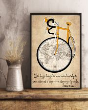 Cycling Quotes That Will Inspire You To Get Out  11x17 Poster lifestyle-poster-3