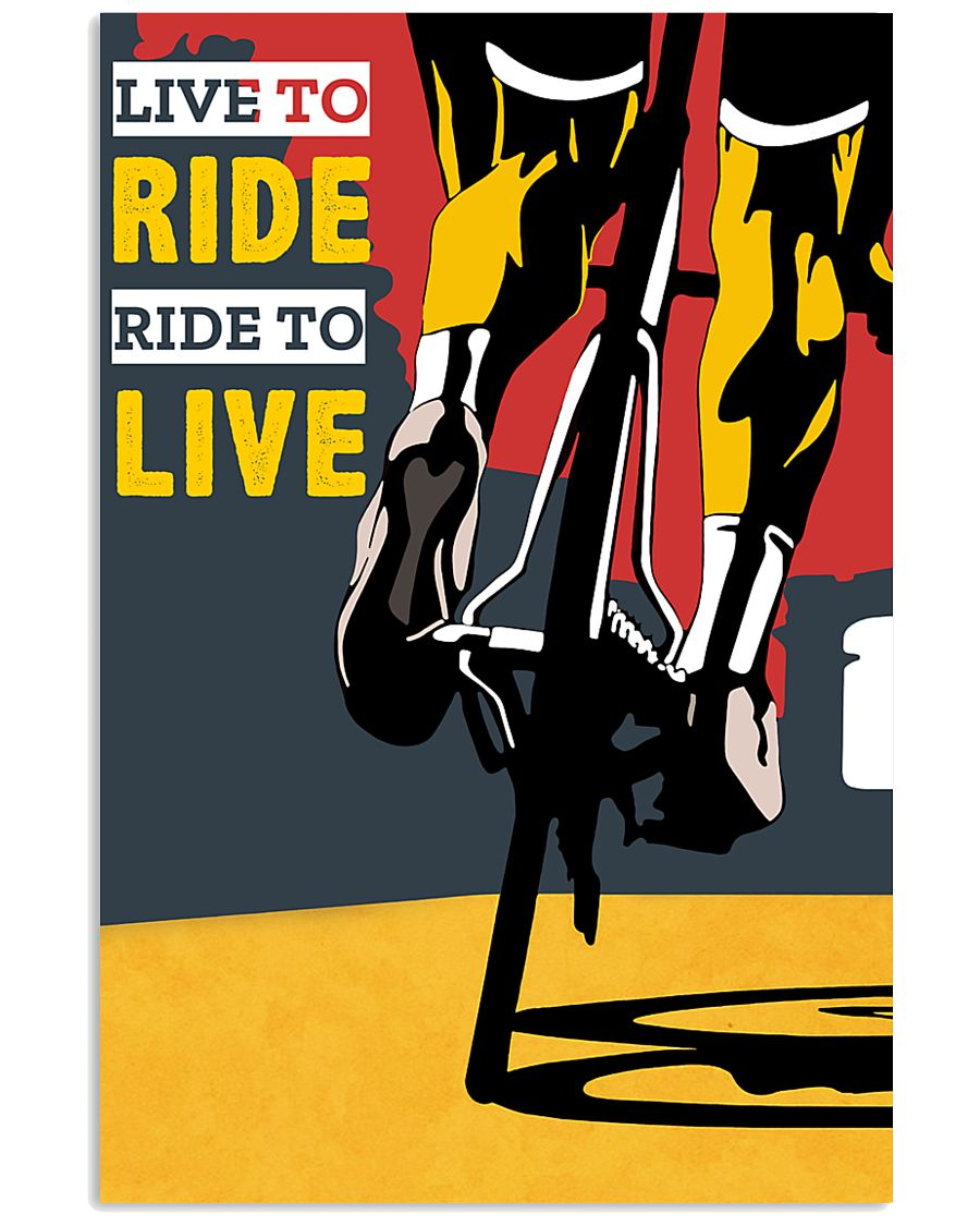 LIVE TO RIDE - RIDE TO LIVE 11x17 Poster