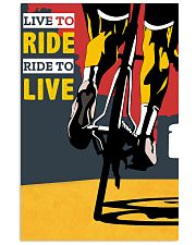 LIVE TO RIDE - RIDE TO LIVE 11x17 Poster front