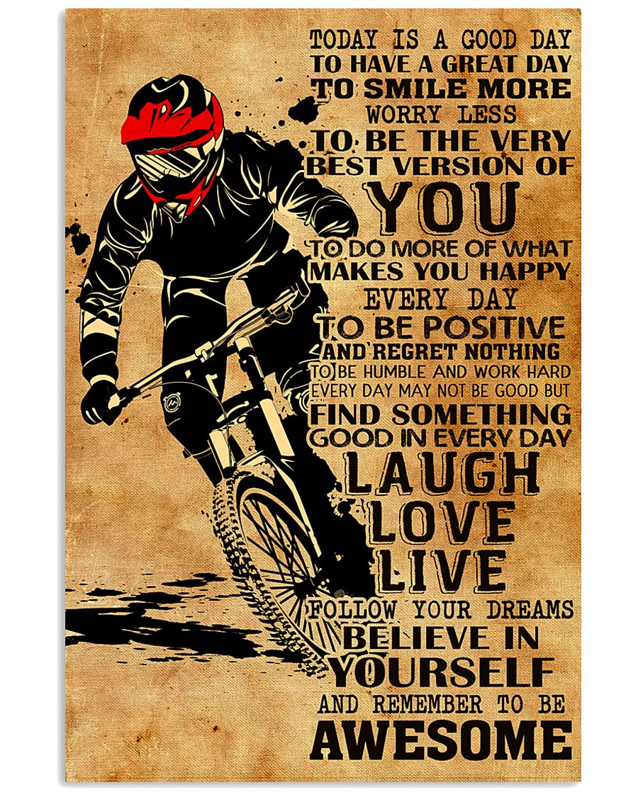 REMEMBER TO BE AWESOME 16x24 Poster