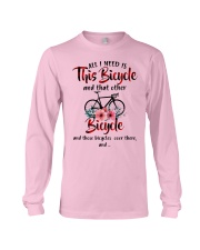 All I Need Is This Bicycle Long Sleeve Tee thumbnail