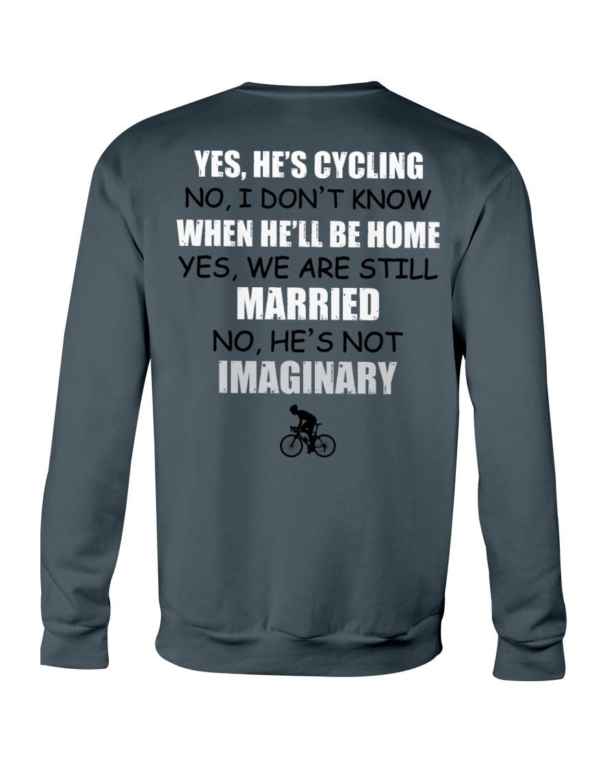 HE'S CYCLING Crewneck Sweatshirt