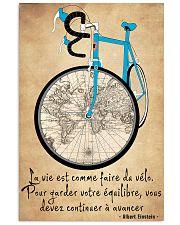 La Vie Est Comme Faire Du Vélo 11x17 Poster front