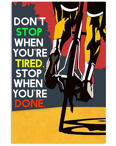 Where You're Done Poster