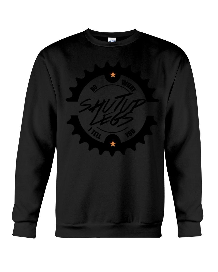 Life Is Like Riding A Bicycle Crewneck Sweatshirt