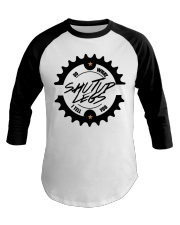 Life Is Like Riding A Bicycle Baseball Tee front