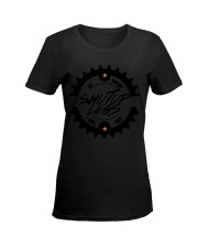 Life Is Like Riding A Bicycle Ladies T-Shirt women-premium-crewneck-shirt-front