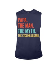 PAPA - THE MAN - THE MYTH - THE CYCLING LEGEND Sleeveless Tee tile