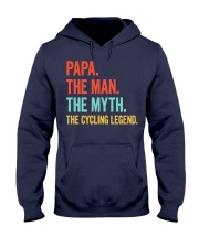 PAPA - THE MAN - THE MYTH - THE CYCLING LEGEND Hooded Sweatshirt thumbnail