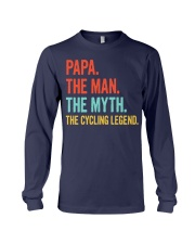 PAPA - THE MAN - THE MYTH - THE CYCLING LEGEND Long Sleeve Tee thumbnail