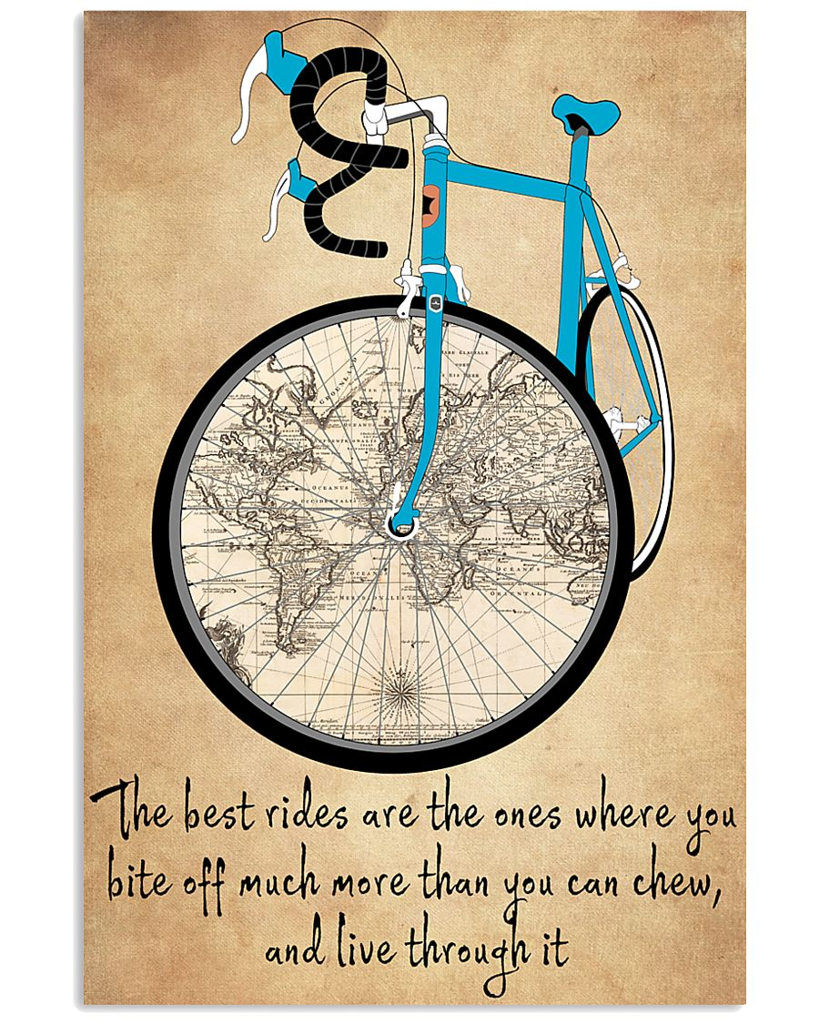 Inspirational Cycling Quotes To Get You Riding 11x17 Poster