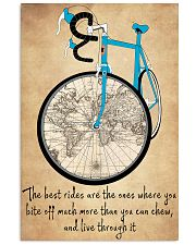 Inspirational Cycling Quotes To Get You Riding 11x17 Poster front