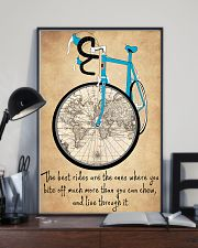 Inspirational Cycling Quotes To Get You Riding 11x17 Poster lifestyle-poster-2