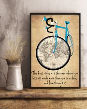 Inspirational Cycling Quotes To Get You Riding 11x17 Poster lifestyle-poster-3