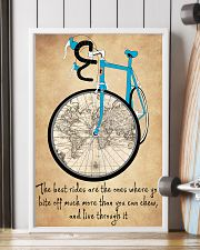 Inspirational Cycling Quotes To Get You Riding 11x17 Poster lifestyle-poster-4