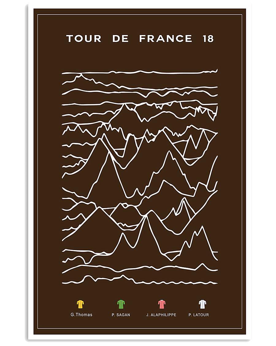 TOUR DE FRANCE 2018 16x24 Poster