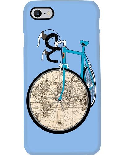 Worl Map Bike T-Shirts