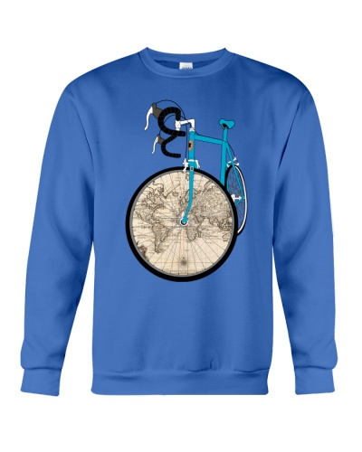 Worl Map Bike T-Shirts