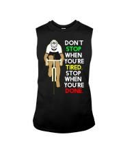 Sprueche Fahrrad Inspiration Motivation Sleeveless Tee thumbnail