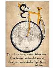 Sprueche Fahrrad Inspiration Motivation 24x36 Poster thumbnail
