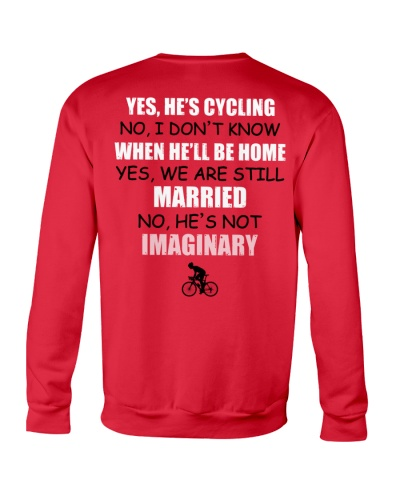 HE'S CYCLING