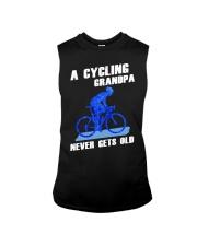 A CYCLING GRANDPA - NEVER GETS OLD Sleeveless Tee thumbnail