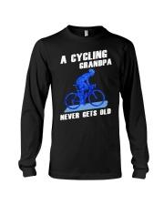 A CYCLING GRANDPA - NEVER GETS OLD Long Sleeve Tee thumbnail