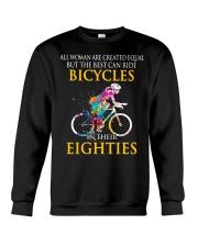 Equal Cycling EIGHTIES Women Shirt - FRONT Crewneck Sweatshirt thumbnail