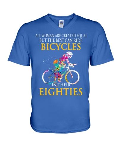 Equal Cycling EIGHTIES Women Shirt - FRONT
