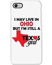 Texas Girl Lives in Ohio Phone Case thumbnail