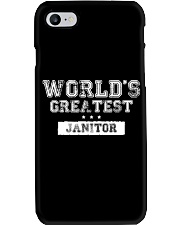 World's Greatest Janitor Phone Case thumbnail